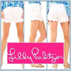 Lilly Pulitzer Pants - Lilly Pulitzer Scalloped Shorts