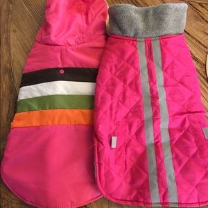 Other - Two water repellent dog coats