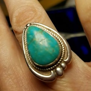 Sunbell Mexico Sterling & Turquoise Ring