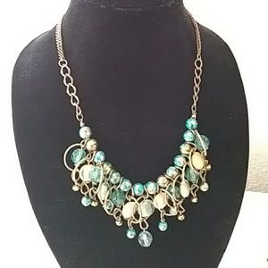 Jewelry - Bead and Hoop Necklace *Final Price*
