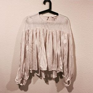 H&M Tops - H&M peasant boho flowy peasant top blouse