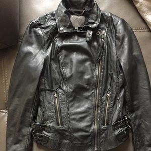 Muubaa Jackets & Blazers - Muubaa leather biker jacket