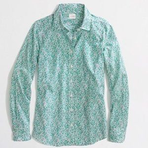 J. Crew Tops - Classic J. Crew Perfect Shirt Button Down