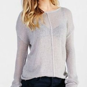 One by One Teaspoon Sweater in Gray