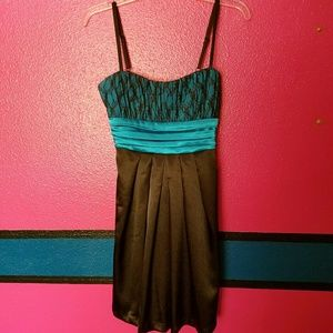 Dresses & Skirts - Black and Blue Dress - 7