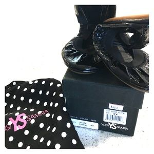 Yosi Samra Other - New in Box - Yosi Samra Black Patent Ballet Flat