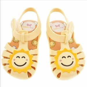 Zaxy Happy Baby Yellow Sunshine Sandal