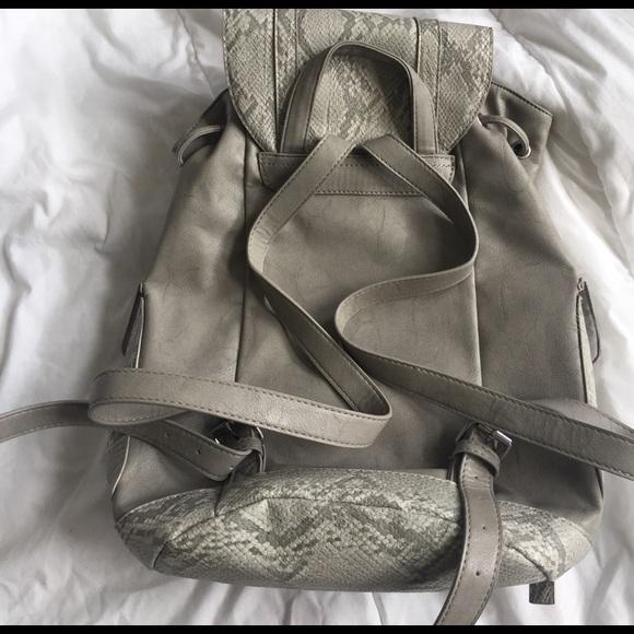 Topshop Bags - topshop snakeskin backpack