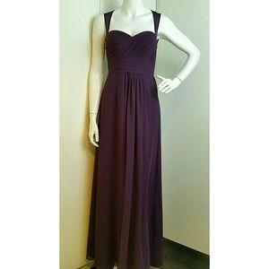 Bill Levkoff Dresses & Skirts - Bill Levkoff plum purple prom bridesmaid dress
