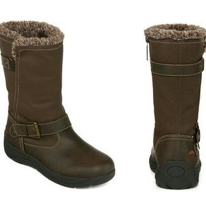 totes Shoes - Brand New Womens Totes Brown Ashley Boots
