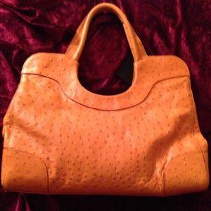 Furla Handbags - ♦️TODAY ONLY♦️$349 Furla orange ostrich embossed