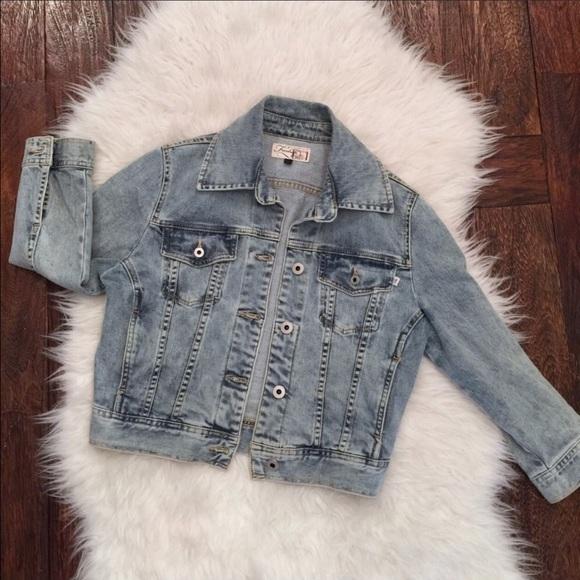 c3726a8bae0e5 firetrap Jackets & Coats | Womens Jean Jacket Jean Jacket Womens ...