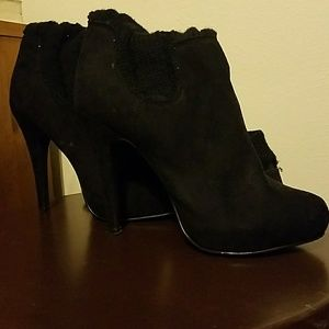 Bakers Shoes - Bakers Knee High Heel Boots
