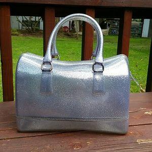 Handbags - Silver Jellies Purse / Handbag
