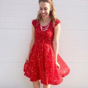 Rafaella Dresses & Skirts - Red sun dress
