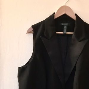 Lauren Ralph Lauren Jackets & Blazers - ⭐BNWT⭐ Black Lauren Ralph Lauren Vest