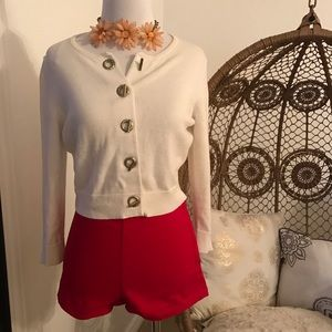 Calvin Klein Sweaters - Calvin Klein Cropped Cardigan - small