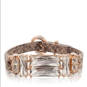Henri Bendel Jewelry - Henri Bendel Deco Leather Bracelet