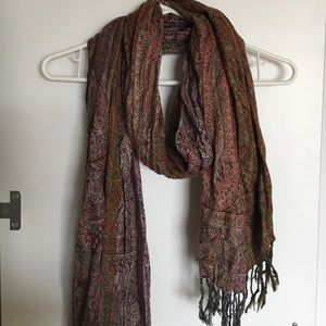 Accessories - Paisley pattern fashion scarf