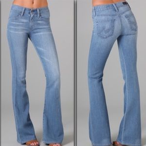 AG Adriano Goldschmied Denim - AG bell bottom flare wideleg jeans