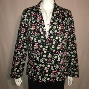 Alfred Dunner Jackets & Blazers - Alfred Dunner floral blazer
