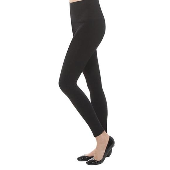 b24a60bffc14a8 SPANX Pants | New Takes Off Shaping Black Leggings M | Poshmark