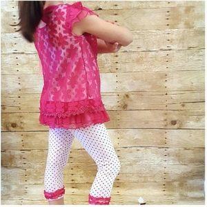 Little Lass Other - New LITTLE LASS 5 Capri Outfit Set Dress Top Pants
