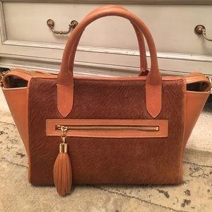 GiGi New York Handbags - Gigi New York American Calf Hair Grace Satchel