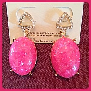 InEveryCorner Jewelry - 30% OFF BUNDLES💗Gorgeous Hot Pink Drop Earrings💗