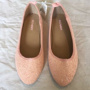 Old Navy Other - .Old Navy. Girls' pink sparkly flats, NWT
