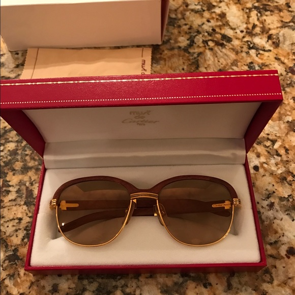 bdba56db8f4 Cartier Accessories - Authentic Cartier Malmaison Glasses