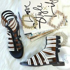 Thakoon Shoes - THAKOON gladiator leather sandals