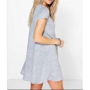 Dresses & Skirts - Heather gray swing dress