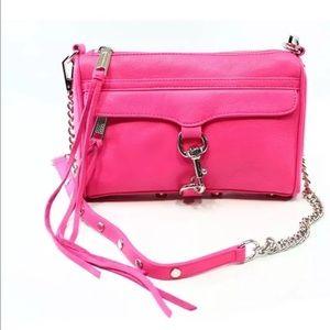 Rebecca Minkoff Handbags - Rebecca Minkoff HOT PINK mini MAC Crossbody $195