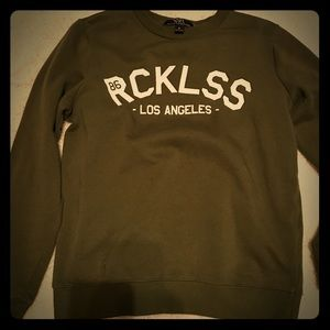 Young & Reckless Tops - Young & reckless crewneck sweatshirt