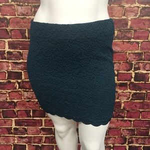 torrid Dresses & Skirts - {2X & 3X} Torrid Teal Lace Miniskirt