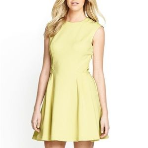 Ted Baker Dresses & Skirts - HOUR SALE✨ Neoprene Yellow Fit and Flare Dress