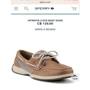 Sperry Top-Sider Shoes - NEW with box Sperry Top Sider Tan Boat Shoes