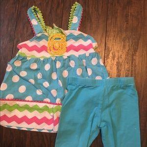 Nanette Baby Other - Pineapple Short Set