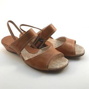 PIKOLINOS Shoes - PIKOLINOS Caramel Crema Slingbacks Sz 10.5-11