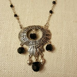 Jewelmint Jewelry - Abstract vintage owl necklace