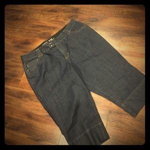 Lane Bryant Denim - Like new Crop Pants