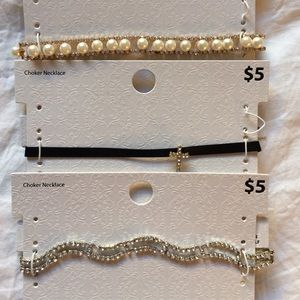 Jewelry - NWT Set of 3 chokers