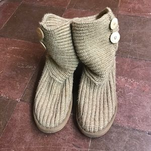 BearPaw Shoes - BearPaw Knit Boots