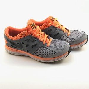 Nike Other - Nike Youth Dual Fusion Lite sz 6Y Orange Gray