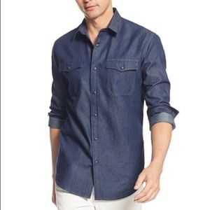 American Rag Other - Classic button up denim shirt