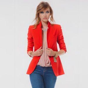 Akris Jackets & Blazers - AKRIS Punto at Neiman Marcus Dark orange blazer