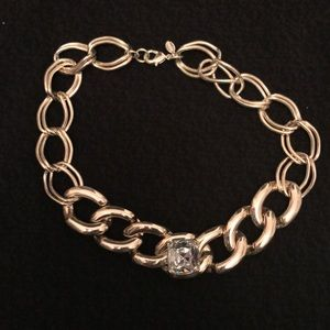 Express chain link necklace