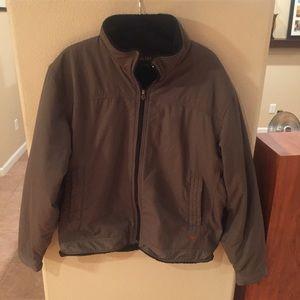 Ariat Other - Ariat men's brown-green fleece lined jacket large
