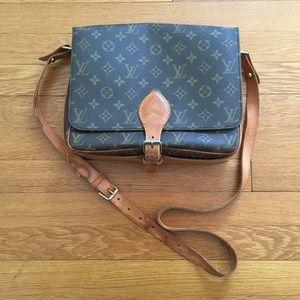 Louis Vuitton Handbags - Vintage Louis Vuitton 🍒 Cartouchiere GM 🍒